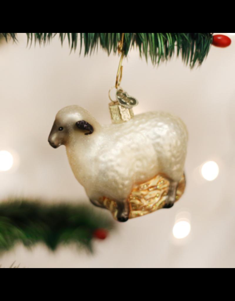 Old World Christmas Sheep