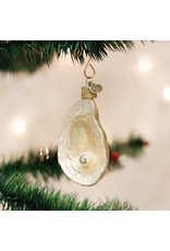 Old World Christmas Oyster with Pearl