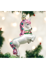 Old World Christmas Prancing Unicorn