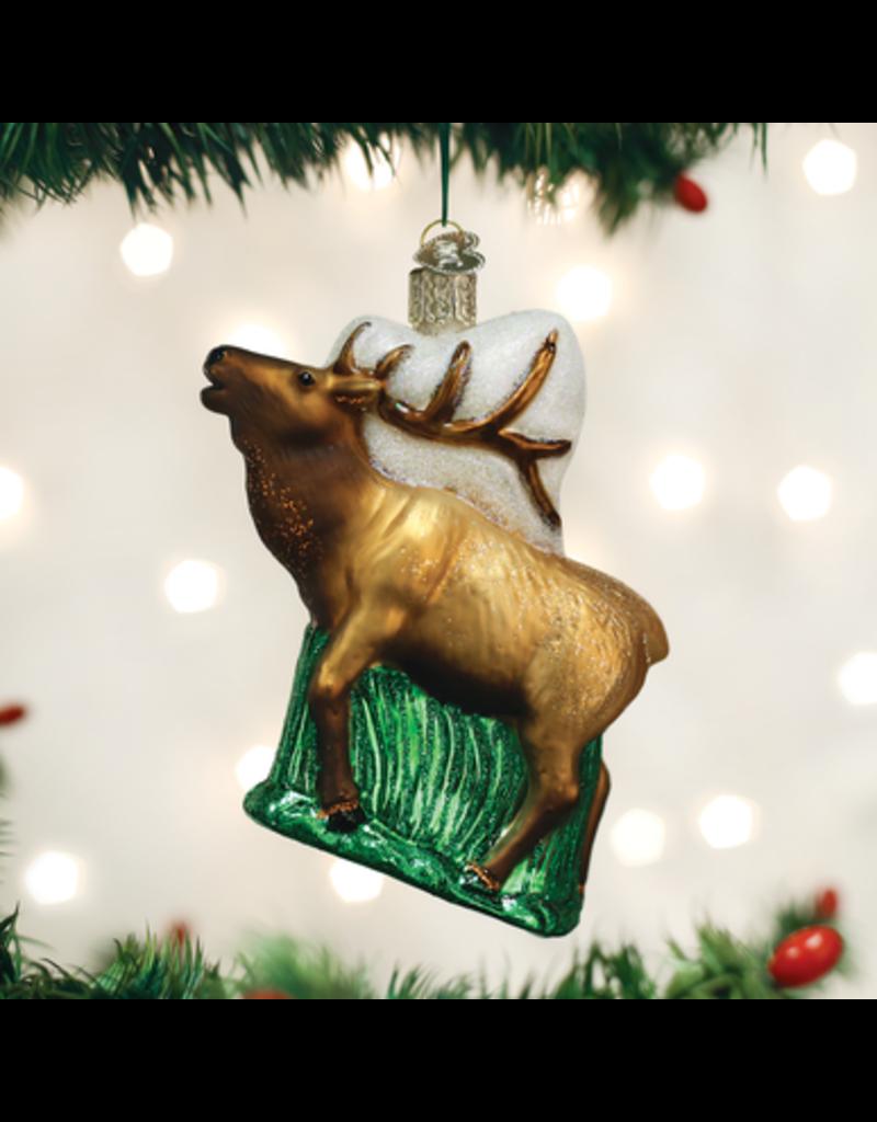Old World Christmas Elk