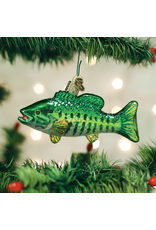 Old World Christmas Small Mouth Bass