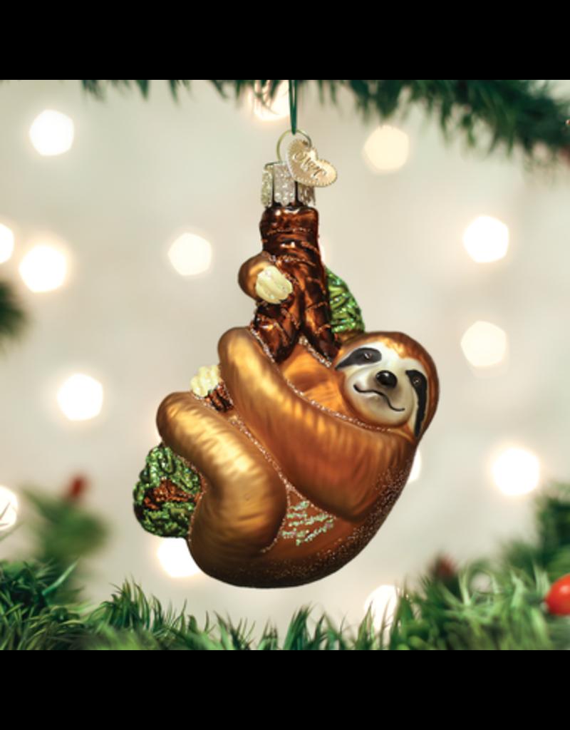 Old World Christmas Sloth