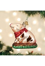 Old World Christmas Piggy in the Puddle