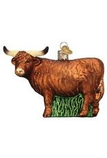 Old World Christmas Highland Cow