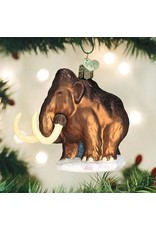 Old World Christmas Woolly Mammoth