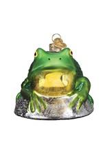 Old World Christmas Bull Frog