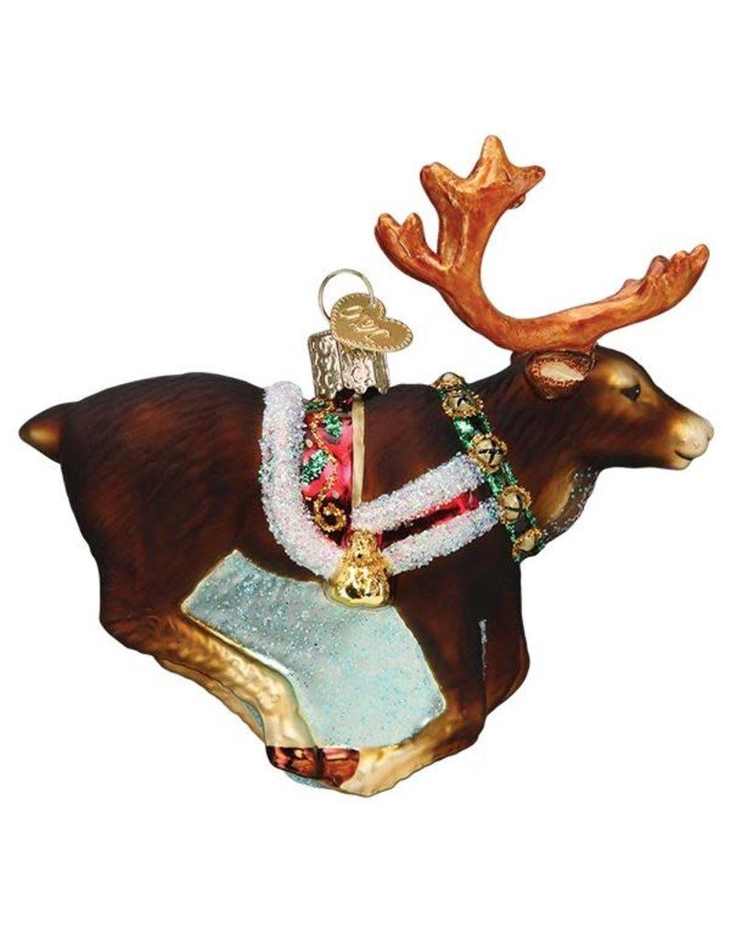 Old World Christmas Reindeer
