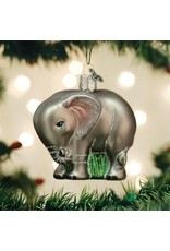 Old World Christmas Baby Elephant