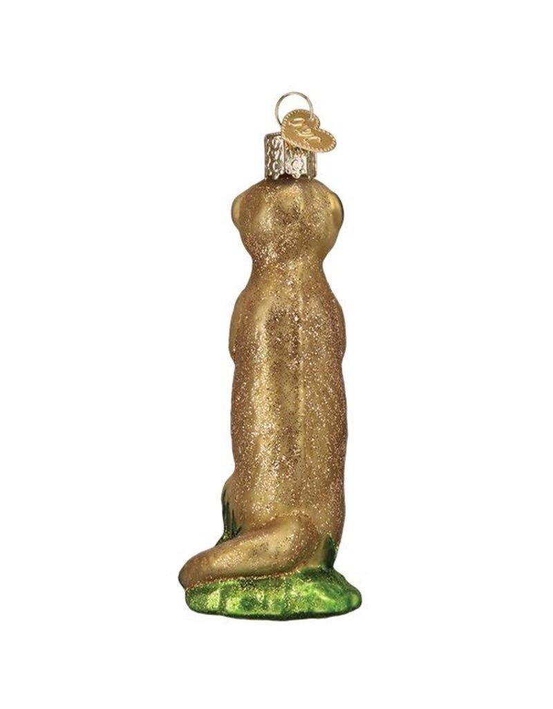 Old World Christmas Meerkat