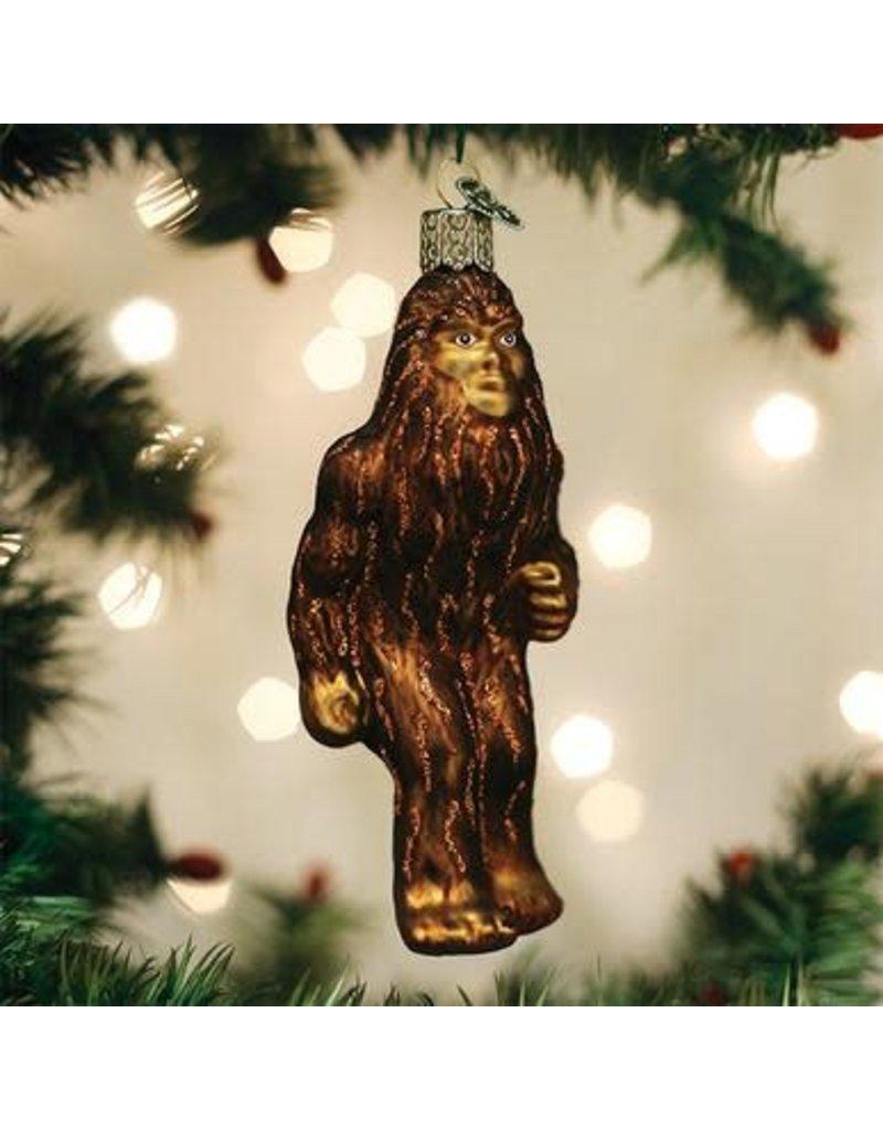 Old World Christmas Sasquatch