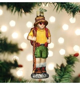 Old World Christmas Hiker