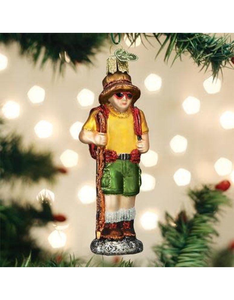 Old World Christmas Hiker