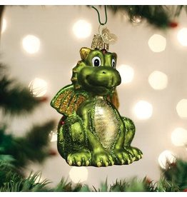 Old World Christmas Little Dragon