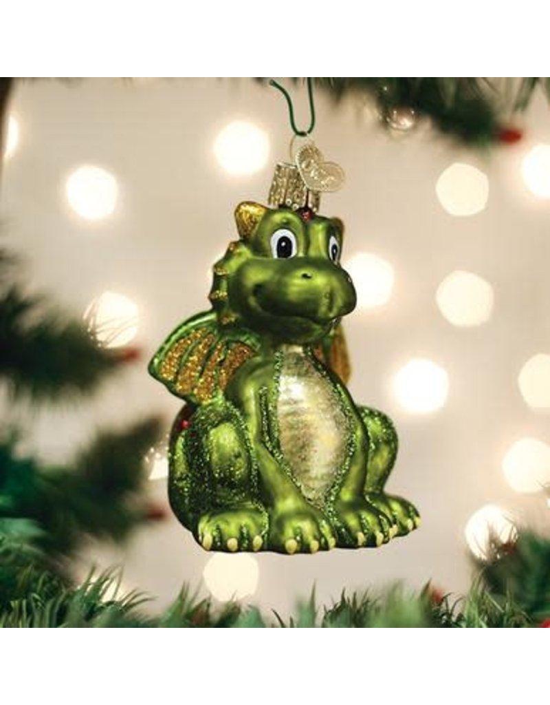 Old World Christmas Little Dragon