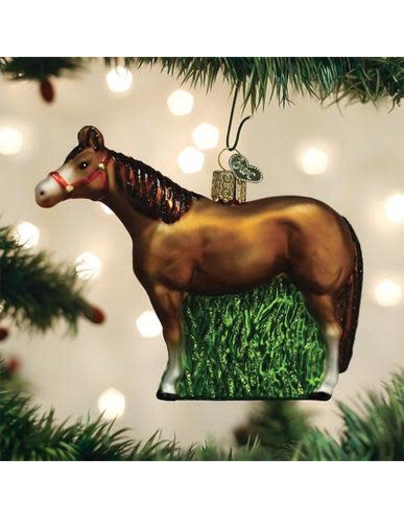 Old World Christmas Quarter Horse