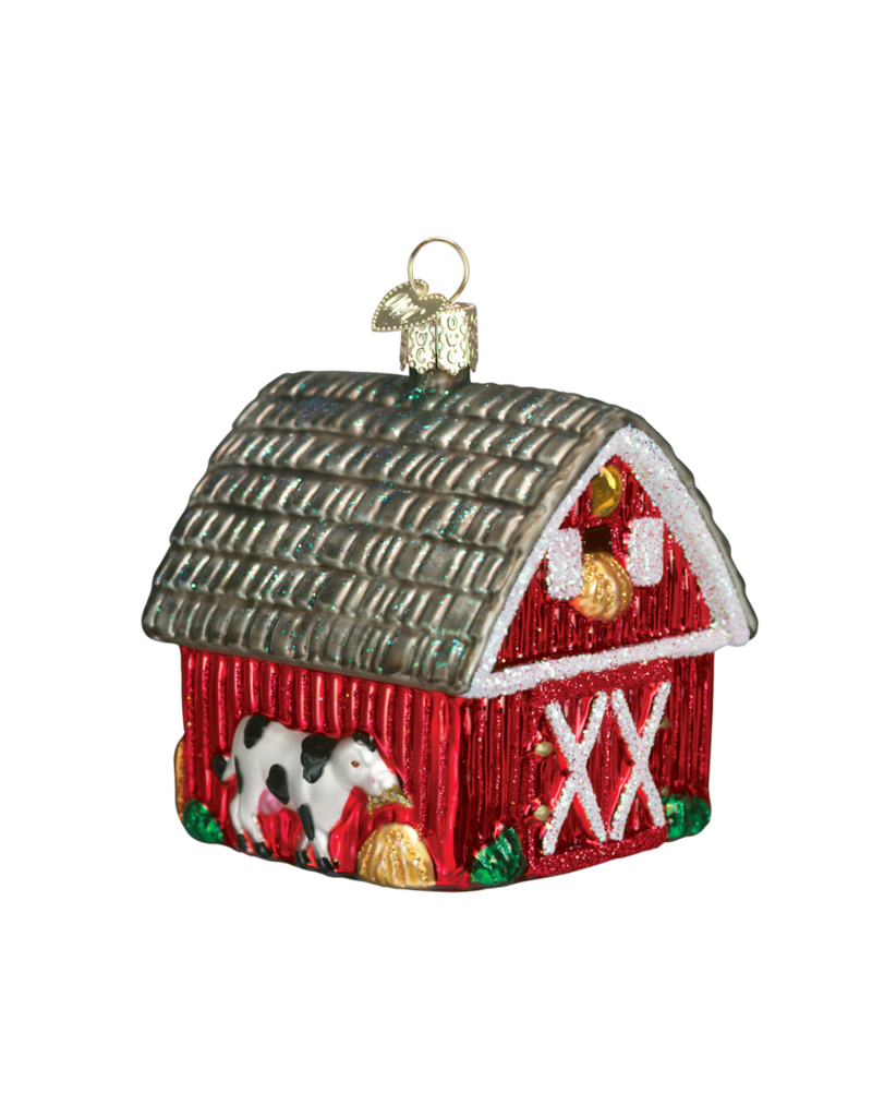 Old World Christmas Barn