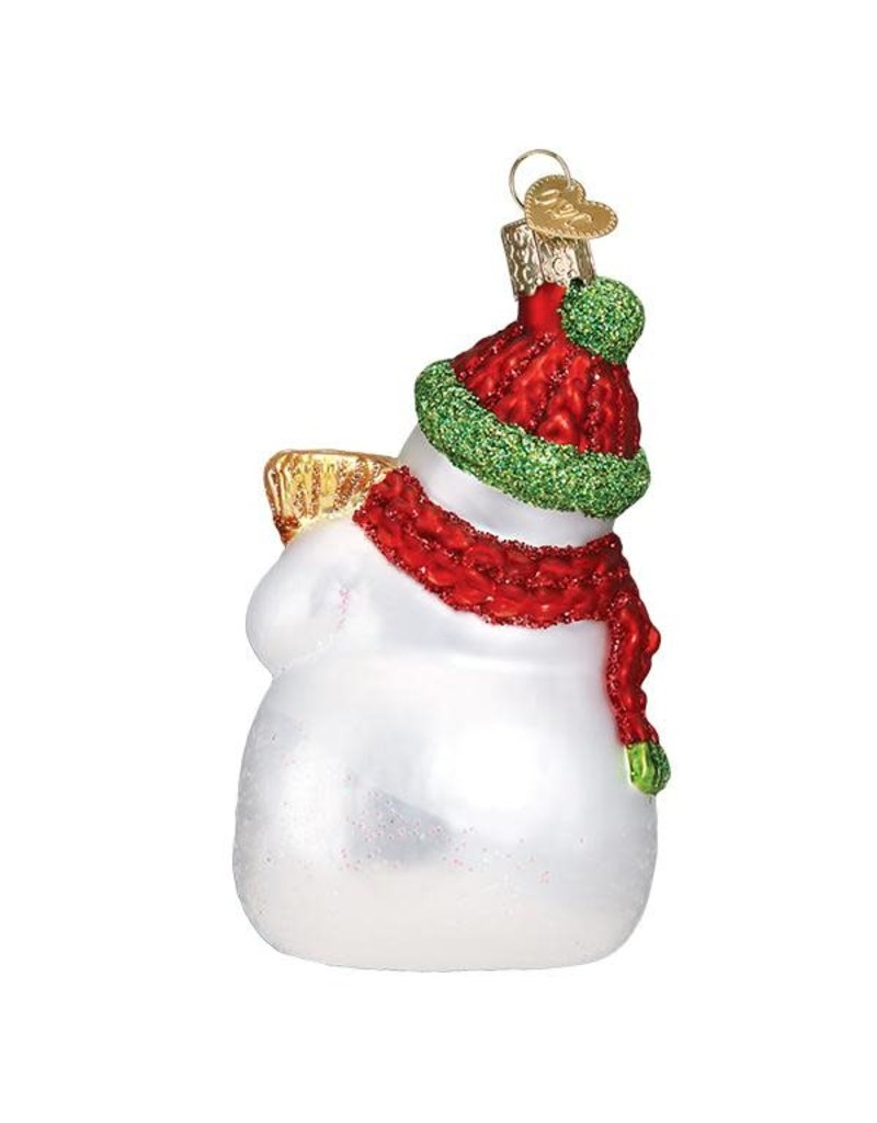 OWC Snowman with Broom