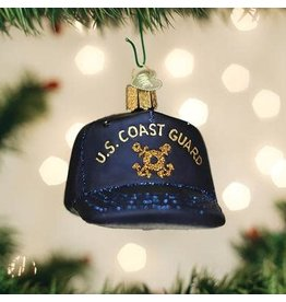 Old World Christmas Coast Guard Cap