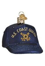 Old World Christmas Coast Guard Cap