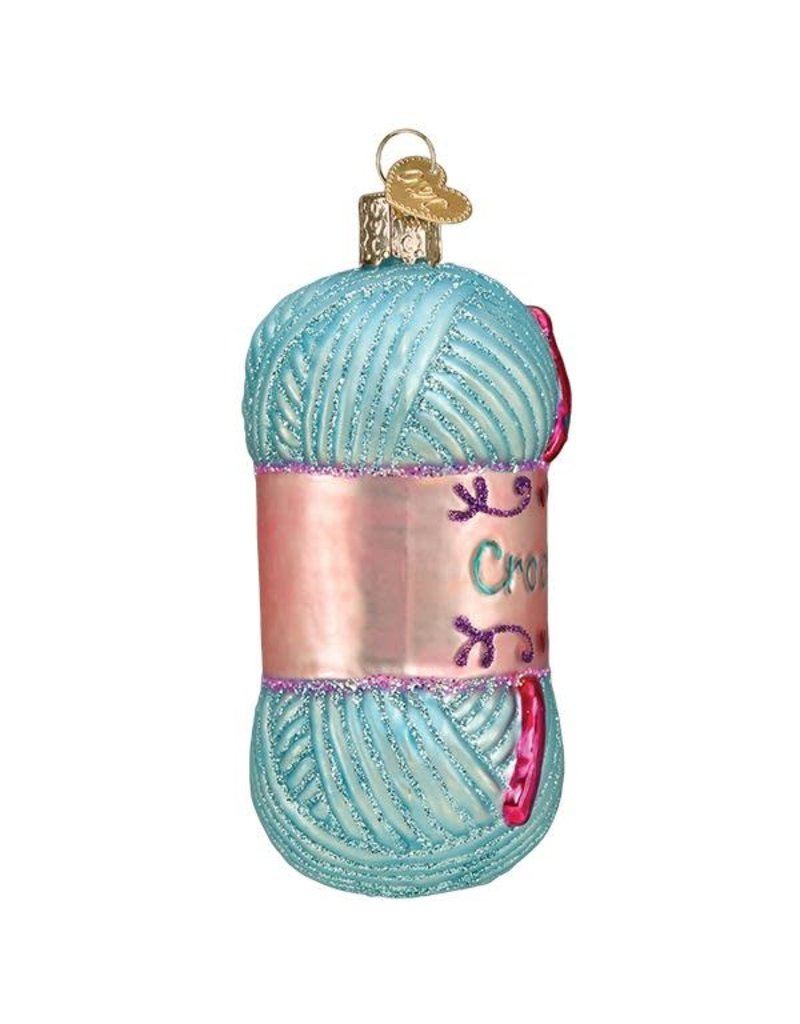 Old World Christmas Crochet Ornament