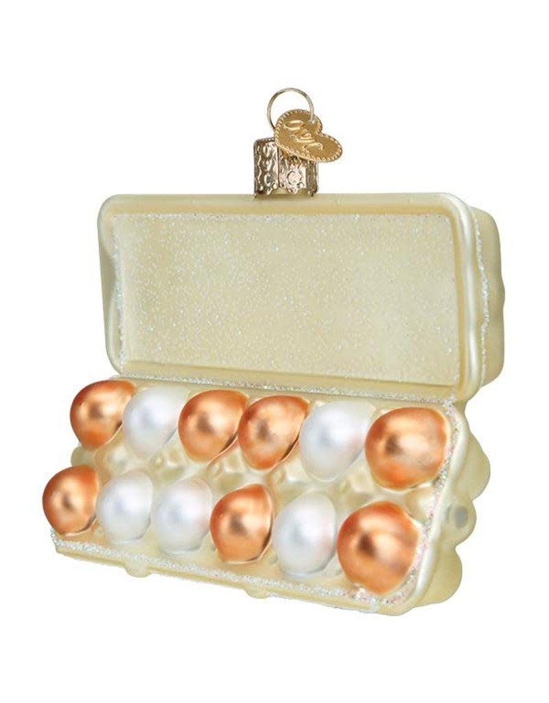 Old World Christmas Egg Carton
