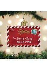 Old World Christmas Letter to Santa