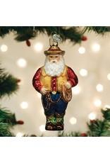 Old World Christmas Western Santa