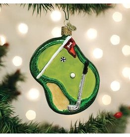 Old World Christmas Putting Green