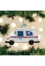 Old World Christmas USPS Mail Truck