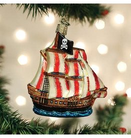 Old World Christmas Pirate Ship