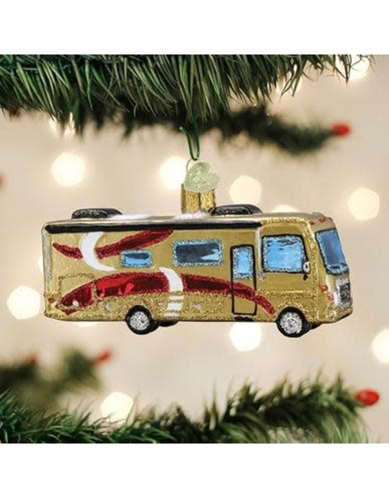 Old World Christmas Class A Motorhome
