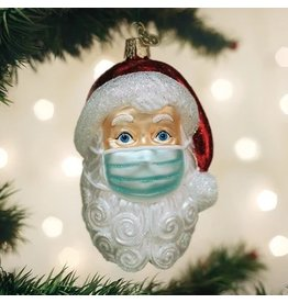 Old World Santa Mask Santa with Face Mask