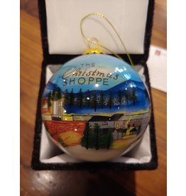 New Niche The Christmas Shoppe 50th Anniversary Ornament