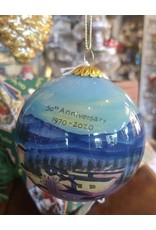 New Niche The Christmas Shoppe 50th Anniversary Ornament