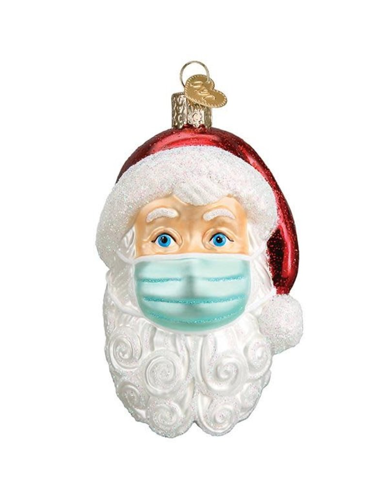 **PRE-ORDER** Santa with Face Mask