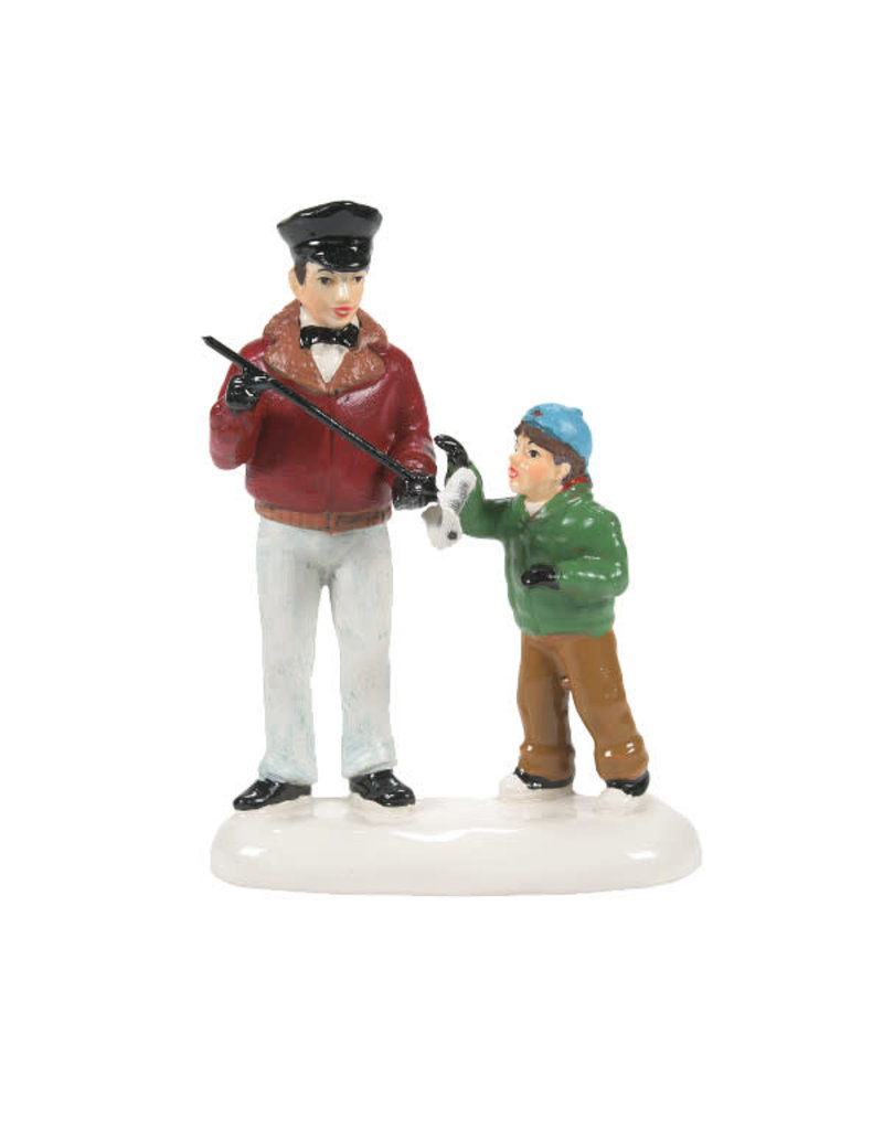 Department 56 SNWVL IT'S A DIPSTICK, BILLY