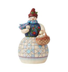 JS Snowman w/Basket