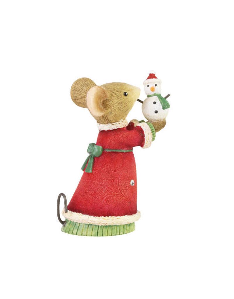 Tiny Snowman Mouse