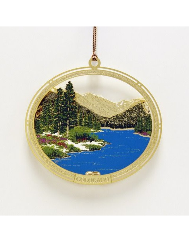 Whitney's Designs, Inc. Glacier Lake 8th in Whitney's Designs Colorado Christmas Collection
