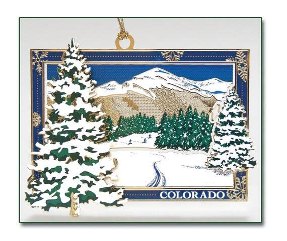 Whitney's Designs, Inc. Alpine Winter 4th in Whitney's Designs Colorado Christmas Collection