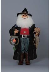 Karen Didion Cowboy Santa