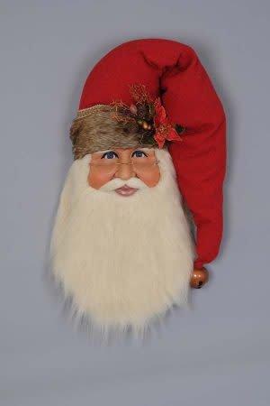 Karen Didion Woodland Santa Head