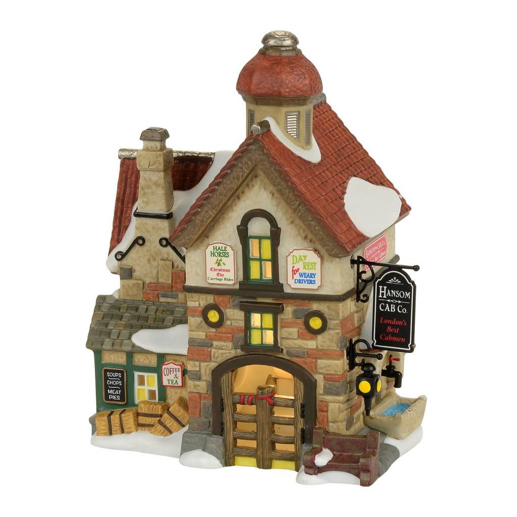 Department 56 The Hansom Cab Co.