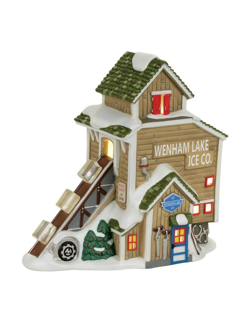 Department 56 Wenham Lake Ice Delivery for New England Village