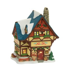 Department 56 Bavarian Cottage for Alpine Village