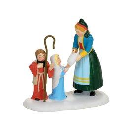 Department 56 The Children's Nativity for Alpine Village