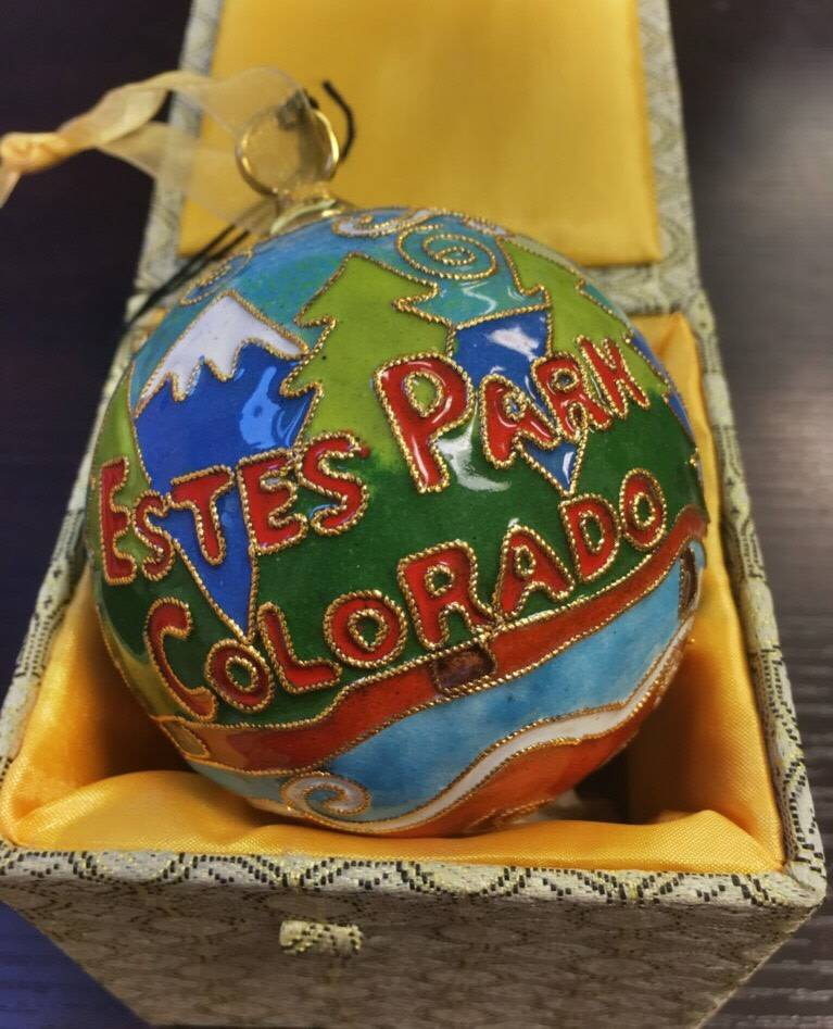 Kitty Keller Designs Original Colorado Cloisonne, 1st in Spruce House Exclusive Collection
