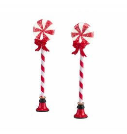 Department 56 Peppermint Street Lights Set of 2 by Department 56
