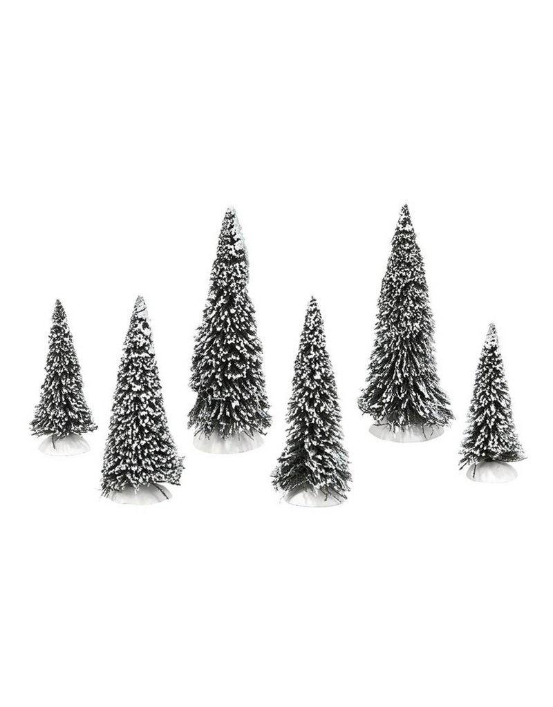 Department 56 Snow Covered Pines Set of 6 by Department 56