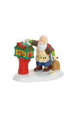 Department 56 Off Season Santa for North Pole Village